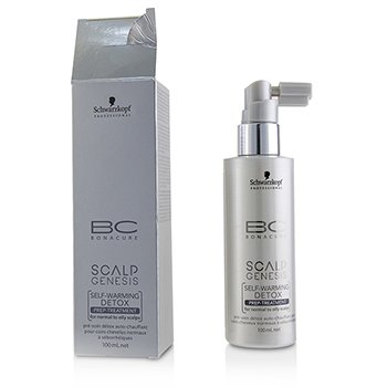 BC Scalp Genesis Self-Warming Detox Prep-Treatment - For Normal to Oily Scalps (Box Slightly Damaged) 100ml/3.4oz