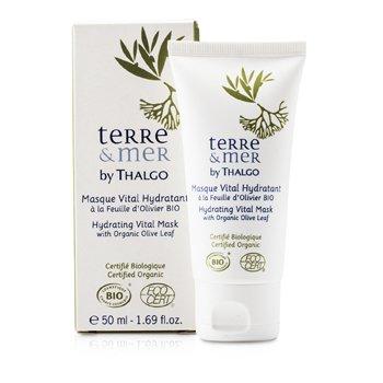 Thalgo Terre & Mer Hydrating Vital Maske med Organisk Olivenblad  50ml/1.69oz