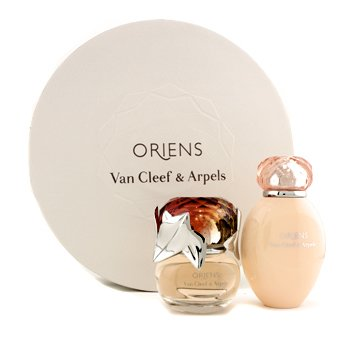 Oriens Coffret: Eau De Parfum Spray 50ml/1.7oz + Body Lotion 150ml/5oz (Round Box)  2pcs