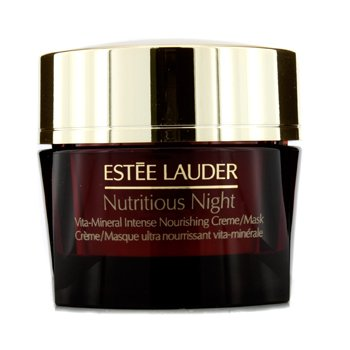 Estee Lauder Nutritious Night Vita-Mineral Intense Nourishing Creme/Mask  50ml/1.7oz