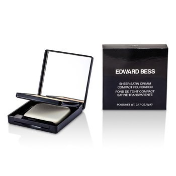 Edward Bess Sheer Satin Cream Compact Foundation - #01 Light  5g/0.17oz