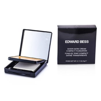 Edward Bess Sheer Satin Cream Compact Foundation - #03 Nude  5g/0.17oz