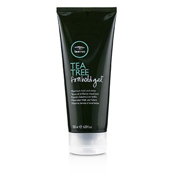 Żel do stylizacji włosów Tea Tree Firm Hold Gel (Maximum Hold & Shine)  200ml/6.8oz