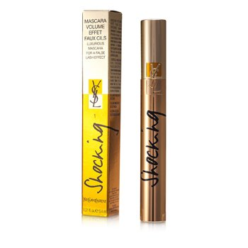 Yves Saint Laurent Mascara Volume Effet Faux Cils (Shocking) - # 01 Deep Black  6.4ml/0.21oz