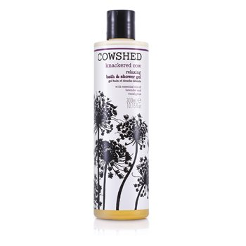Cowshed Knackered Cow Relaxing Bath & Shower Gel  300ml/10.15oz