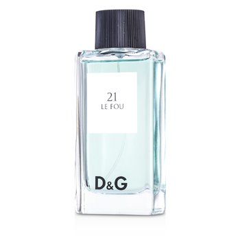 D&G Anthology 21 Le Fou Eau De Toilette Spray  100ml/3.3oz