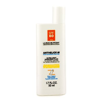 Anthelios 60 Ultra Light Sunscreen Fluid (Normal/ Combination Skin) (Unboxed)  50ml/1.7oz