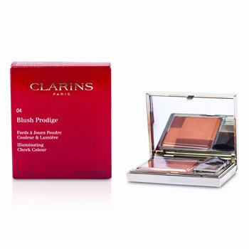 Clarins Rozświetlający róż do policzków Blush Prodige Illuminating Cheek Color - #04 Sunset Coral  7.5g/0.26oz