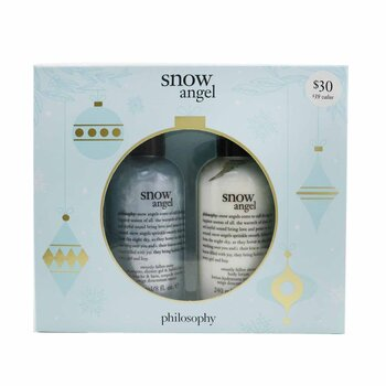 Snow Angel Duo: Shower Gel 240ml + Body Lotion 240ml  2pcs