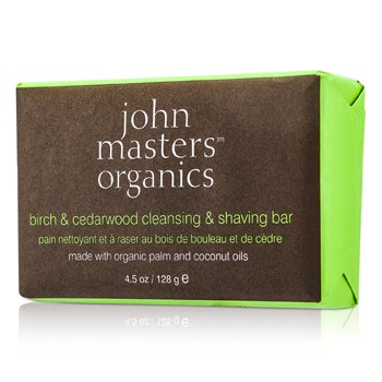 Birch & Cedarwood Cleansing & Shaving Bar  128g/4.5oz