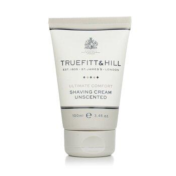 Truefitt & Hill Ultimate Comfort Shaving Cream - Unscented (Travel Tube)  103ml/3.5oz
