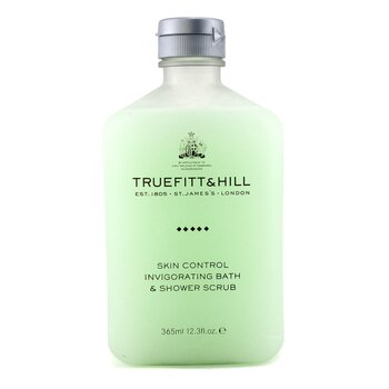 Truefitt & Hill Skin Control Invigorating Exfoliante Baño y Ducha  365ml/12.3oz