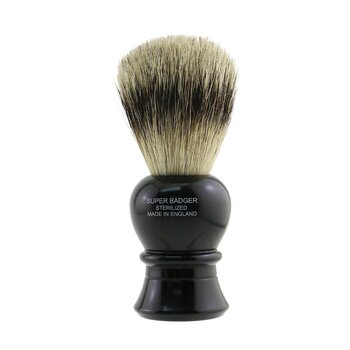 Truefitt & Hill Carlton Super Badger Shave Brush - # Ebony  -