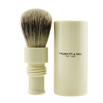 Turnback Traveler Badger Hair Shave Brush - # Ivory  1pc