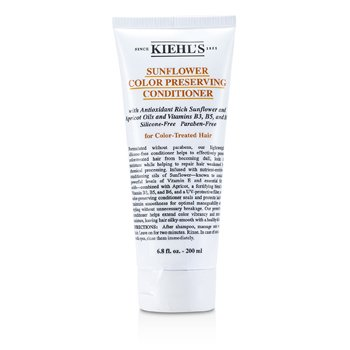 Kiehl's Sunflower Color Preserving Conditioner (For Color-Treated Hair)  200ml/6.8oz