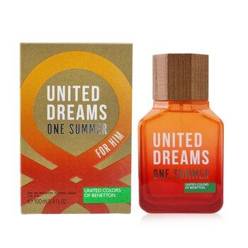 United Dreams One Summer Eau De Toilette Spray (2019 Edition)  100ml/3.4oz