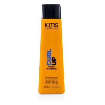 KMS California Szampon do włosów kręconych Curl Up Shampoo (Curl Support & Elasticity)  300ml/10.1oz