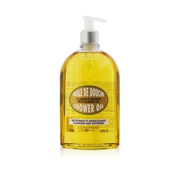 L'Occitane Óleo de amendoa Almond Cleansing & Soothing Shower Oil  500ml/16.7oz