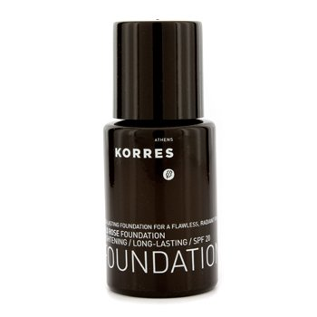 Korres Wild Rose Brightening & Long Lasting Foundation SPF 20 - WRF9  30ml/1.01oz