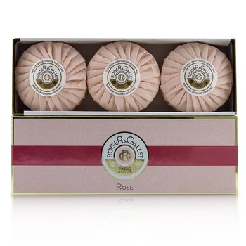 Rose Perfumed Soap Coffret  3x100g/3.5oz