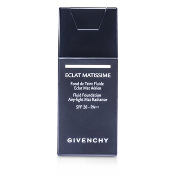 Givenchy Base Eclat Matissime Fluid Foundation SPF 20 - # 4 Mat Beige  30ml/1oz