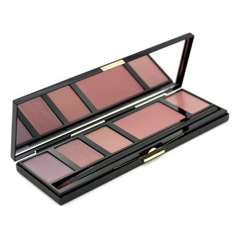 Kevyn Aucoin The Lip & Cheek Palette (3x Lipgloss, 1x Cream Blush, 1x Lipstick) - # Mauves