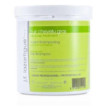 J. F. Lazartigue Propolis Jelly Treatment Pre Shampoo For Oil Scalp (Salon Size)  1000ml/33.8oz