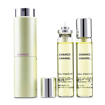 Chance Eau Fraiche Twist & Spray Eau De Toilette 3x20ml/0.7oz