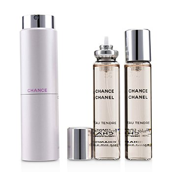 Chanel ادوتویلت Chance Eau Tendre  3x20ml/0.7oz