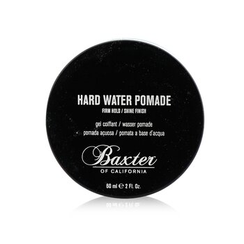 Hard Water Pomade (Firm Hold/ Shine Finish)  60ml/2oz