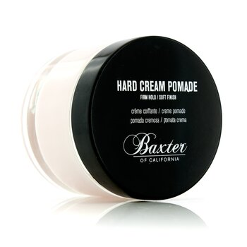 Hard Cream Pomade (Firm Hold/Soft Finish)  60ml/2oz