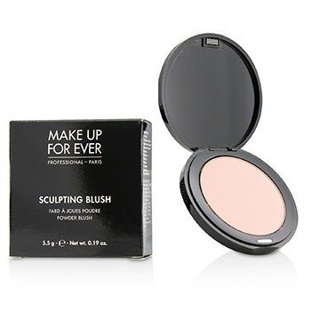Make Up For Ever Sculpting Blush Powder Blush - #10 (Satin Peach Pink)  5.5g/0.17oz