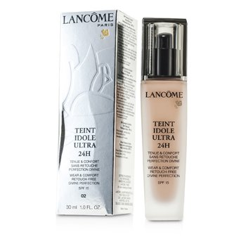 Lancome Teint Idole Base Ultra Confort & Uso de 24H SPF 15 - # 02 Lys Rose  30ml/1oz