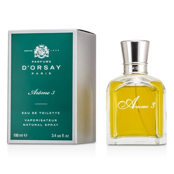 Parfums D'Orsay Arome 3 Agua de Colonia Vap.  100ml/3.4oz