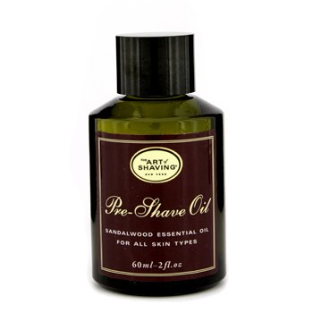 The Art Of Shaving Pre Shave Oil - Sandalwood Essential Oil (Unboxed)  60ml/2oz