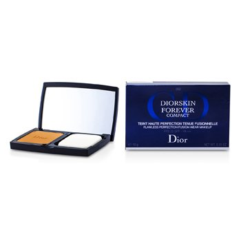 Christian Dior Diorskin Forever Compact Flawless Perfection Fusion Wear Makeup SPF 25 - #050 Dark Beige  10g/0.35oz