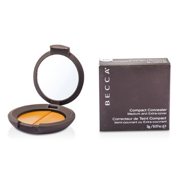 Becca Compact Concealer Medium & Extra Cover - # Pecan  3g/0.07oz