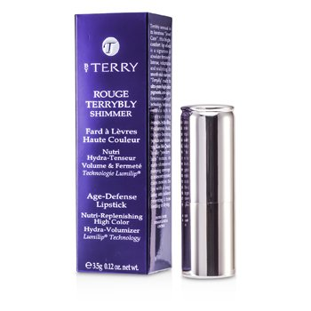 By Terry Rouge Terrybly Shimmer Age Defense Lipstick - # 803 Love Affair  3.5g/0.12oz