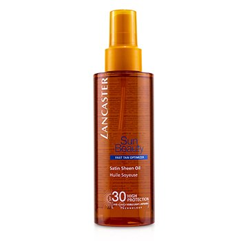 Sun Beauty Satin Sheen Oil Fast Tan Optimizer SPF30  150ml/5oz