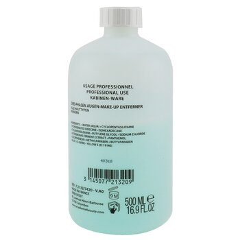 Two Phase MakeUp Remover For Eyes (Salon Size)  500ml/16.9oz