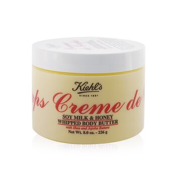 Creme De Corps Soy Milk & Honey Whipped Body Butter  226g/8oz