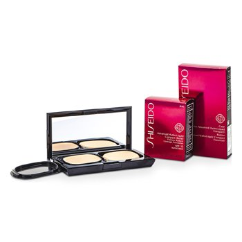 Shiseido Advanced Hydro Liquid Compact Foundation SPF15 (Case + Refill) - B00 Very Light Beige  12g/0.42oz
