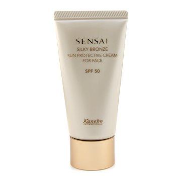 Sensai Silky Bronze Sun Protective Cream For Face SPF 50  50ml/1.7oz