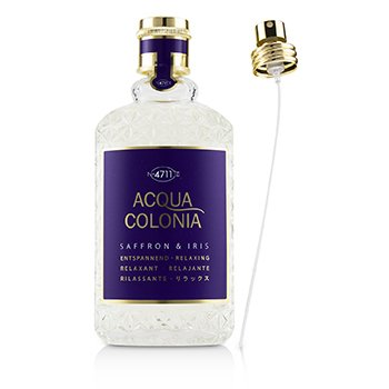 Acqua Colonia Saffron & Iris Eau De Cologne Spray (Unboxed)  170ml/5.7oz