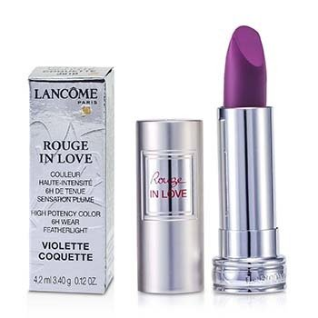 Lancome Rouge In Love Lipstick - # 381B Violette Coquette  4.2ml/0.12oz