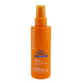 Lancaster Emulsja do opalania w sprayu Sun Care Oil-Free Milky Spray SPF 30  150ml/5oz