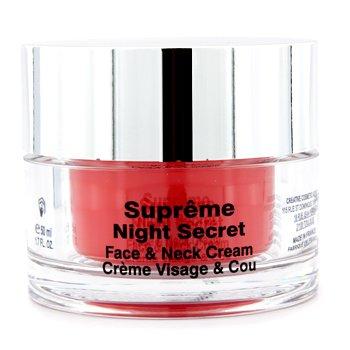 Przeciwzmarszczkowy krem na noc na twarz i szyję Supreme Night Secret Face & Neck Cream  50ml/1.7oz