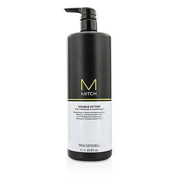 Paul Mitchell Mitch Double Hitter Champú & Acondicionador 2 en 1 Libre de Sulfato  1000ml/33.8oz