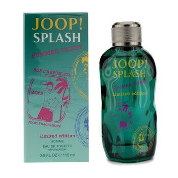 Splash Summer Ticket Eau De Toilette Spray (Limited Edition)  115ml/3.8oz