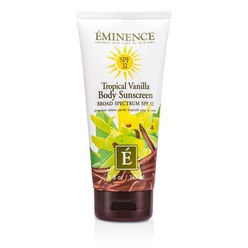 กันแดดสำหรับผิวกาย Tropical Vanilla Body SPF 32  147ml/5oz